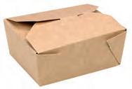 BOX#1 Contenitore avana con chiusura mis.11x9 h63 conf.450 pz.