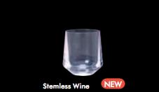 DRINIQUE ELITE STEMLESS WINE , 34 cl , confezione da 24 pz.