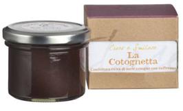 La Cotognetta , 100 gr , Confettura di mele cotogne e zafferano