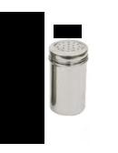 SPARGI ZUCCHERO GROSSI FORI 2,5 mm IN INOX , Ø 7 x H 13 cm , confezione 1 pz .