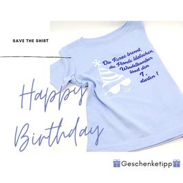 Windelbomber zum Geburtstag Kleinkind