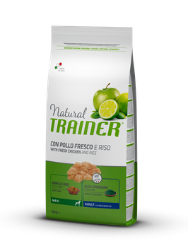 Natural Trainer Maxi Pollo  12 kg