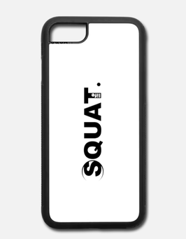 iPhone 7/8 Case elastisch Squat. Life