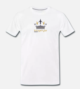 Kingstyle Squat. Premium T-Shirt Man
