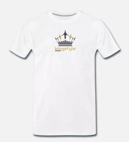 Kingstyle Squat. Premium T-Shirt Man