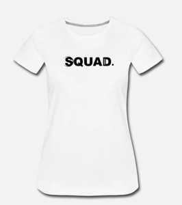 "Swiss ""Squad."" Edition white T-Shirt Women"