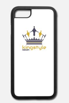 iPhone 7/8 Case Aluminium Kingstyle Squat.