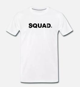 "Swiss ""Squad."" Edition white T-Shirt Man"