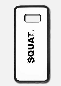 Samsung Galaxy S8 Case Aluminium Squat. Life