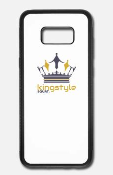 Samsung Galaxy S8 Case Aluminium Kingstyle Squat.