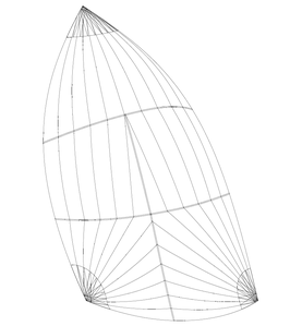 Individuelles Farbdesign: Gennaker (Runner): Größe bis 75m2