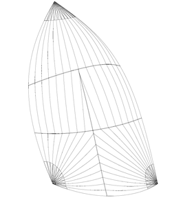 Individuelles Farbdesign: Gennaker (Runner): Größe bis 150m2, einfarbig, in 3 Standardfarben