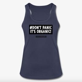 #DontPanic Navy Women Tank