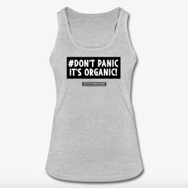 #DontPanic Grey Women Tank