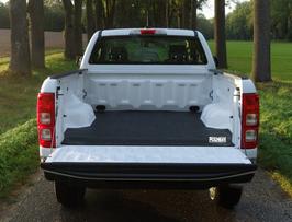 PickUpMatte / Antirutschmatte für Ford Ranger 2019 US Modell (XL, XLT, LARIAT) Super Cab (6 ft/183 cm) OHNE Laderaumwanne