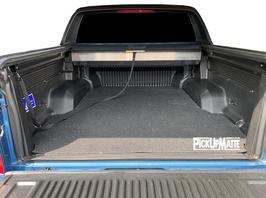 PickUpMatte / Antirutschmatte für Ford Ranger Doppelkabine ab Bj. Mai 2019