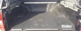 PickUpMatte für Nissan Navara D40, Doppelkabine reguläre Ladefläche oder Longbed
