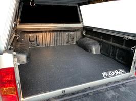 PickUpMatte für Toyota Hilux Vigo, Extrakabine ohne Laderaumwanne (N25/N2, 7. Gen, Bj. 2005-2015)