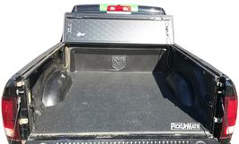 PickUpMatte für Dodge Ram, 4. oder 5.Gen.  MidBox -- MIT -- Original-Laderaumwanne, ohne Rambox