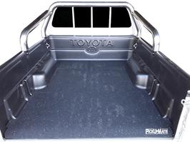 PickUpMatte für Toyota Hilux Vigo, Extrakabine mit Laderaumwanne (N25/N2, 7. Gen, Bj. 2005-2015)