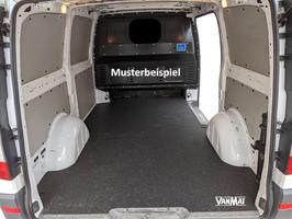 VanMat / Antirutschmatte / Laderaummatte für Transporter Renault Master Kastenwagen mit Blechboden oder Holzboden