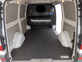 VanMat / Antirutschmatte / Laderaummatte für Transporter VW T4, T5 unf T6
