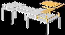Prak-TISCH - Aufbau-Erweiterungsset