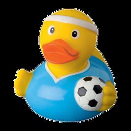 Fussballer Badeente