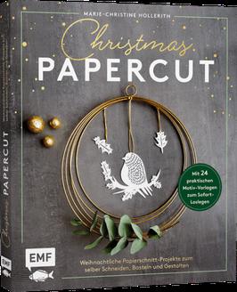 Christmas Papercut- Weihnachtliche Papierschnitt-Projekte zum Schneiden, Basteln und Gestalten