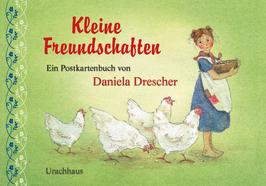 """DANIELA DRESCHER: Postkarten-Set """"Kleine Freundschaften"""""""