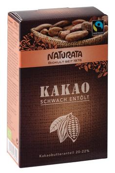 Kakao schwach entölt 125 g