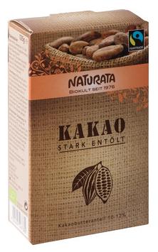 Kakao stark entölt 125 g