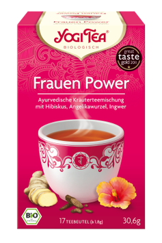 Yogi Tee Frauen Power