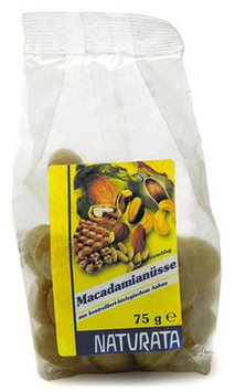 Macadamianüsse ungesalzen 75 g