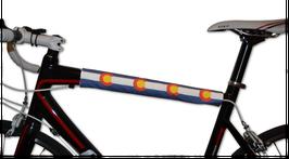 BikeWrappers: Colorado Top Tube Wrap