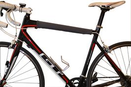 BikeWrappers: Gunmetal Grey (Just the top tube wrap)