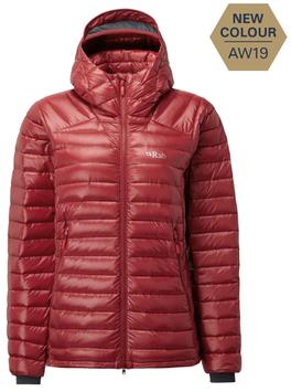 QDA-89  W's Microlight Summit Jacket / Crimson
