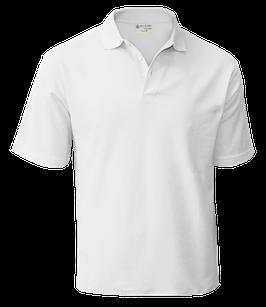 футболка поло (белый)