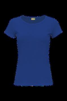 Женская футболка  | синяя