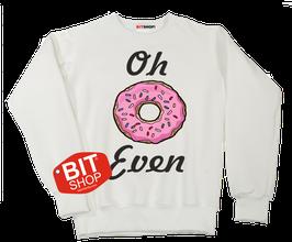 Свитшот  Пончик oh even  (Atel_e_bounty)