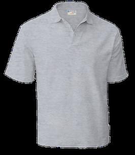футболка поло (светло-серый)