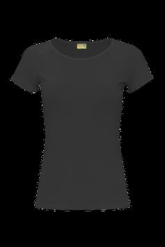 Женская футболка  | черная