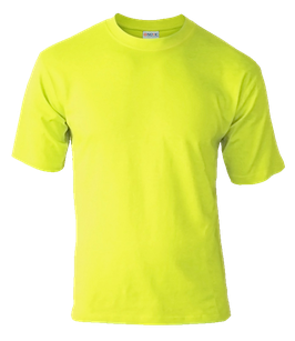 Детская футболка | лимон-салатовая