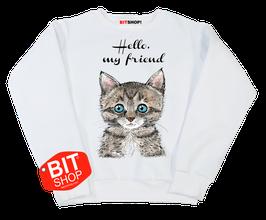 Свитшот | кот (дизайн Ирина Филатова)