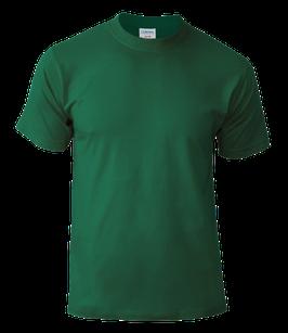 Мужская футболка | темно-зеленый