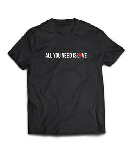 Комплект парных футболок -| LOVE IS ALL YOU NEED /ALL YOU NEED IS LOVE  | X 1