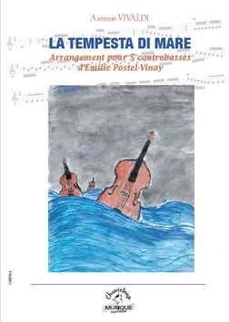 La Tempesta di mare, Antonio Vivaldi, transcription pour 5 contrebasses d'Emilie Postel-Vinay
