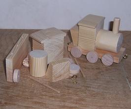 Bausatz Lok kurz