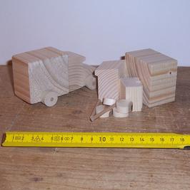 Bausatz Möbelwagen