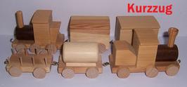 Zug, zwei Waggons
